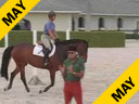 Available on DVD No.1<br>George Morris<br>Assisting<br> Beezie Madden<br>Wellington Florida<br>On Light<br>Holsteiner<br>7 yrs. old Gelding<br>Duration: 44 minutes
