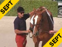 George Morris<br>Riding & Lecturing<br>Creme du Boulet<br>Salle Francais<br>4 yrs. old Mare<br>Wellington Florida<br>Duration: 57 minutes