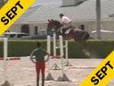 Available on DVD No.10<br>George Morris<br>Assisting<br>Ian Millar<br>Promise Me<br>KWPN 12 yrs. old<br>Training: Int. Grand Prix<br>Jonathan Millar-Vianco<br>Belgium WB 8 yr. old<br>Training: 1.40 meters<br>Duration: 51 minutes