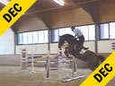Ulrich Kirchhoff<br>Riding & Lecturing<br>C-tje<br>6 yrs. old Mare<br>Oldenburg<br>Training: 1.30 - 1.35 meters<br>Duration: 22 minutes