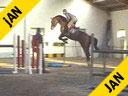 Henk ven der Pol<br>Riding & Lecturing<br>Vasco de Laibrez<br>Belgium Warblood<br>7 yrs. old Gelding<br>Training: 1.35 meters<br>Duration: 23 minutes