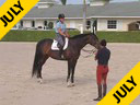 Available on DVD No.11<br>George Morris<br>Assisting<br>Anne Kursinski<br>Samara<br>Owner <br>Leatherdal Farms<br>Hanoverian<br>10 yrs. old Mare<br>Training: Grand Prix<br>Duration: 37 minutes