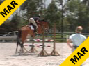 Anne Kursinski<br>Assisting<br>Mark Jespers<br>Riding<br>Storm Warning<br>11 yrs. old<br>Training: 1.40 metres<br>& Adam Cramer<br>Riding<br>Tornado V<br>KWPN 7 yr. old<br>Training: 1.30 metres<br>Duration: 48 minutes