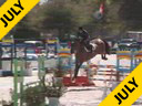 Aaron Vale<br> Riding & Lecturing<br> Bartolli<br> 6 yrs. old<br> Belgium<br> Training: Class 3.6 ft<br> Duration: 11 minutes