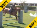 Rodrigo Pessoa<br> Riding & Lecturing<br> Baloubet<br> 17 yrs. old<br> Selle Francais<br> by: Baloubet<br> Owner: Acorn Fram<br> Training: 1.45m<br> Duration: 23 minutes