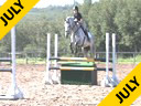 Gail Greenough<br> Assisting<br> Karley Skaret<br> Chellina Z<br> Zangersheid<br> 8 yrs. old Mare<br> Training: 1.15 meters<br> Owner: Karley Skaret<br> Duration: 31 minutes