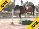 Beezie Madden<br> Riding & Lecturing<br> On Light<br> 7 yrs. old Mare<br> Training: 1.45 meters<br> Duration: 26 minutes